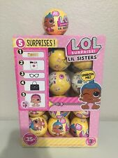 LOL SURPRISE SERIES 3 WAVE 2 LIL SISTERS DOLLS Full Case W/Display Box -24 Balls