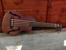 Fretless Ukulele Bass Bass Ukulele Travel Bass Guitar With F Holes
