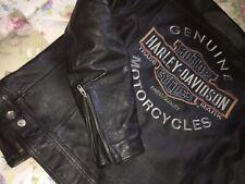 Tolle Harley Davidson Lederjacke Herren Leather Jacket Gr. S /M Cool! Topp! HD