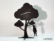 The Giving Tree - Hanging Scarecrow - Silhouette Pendulum Table Clock