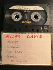 Miles Davis Live Statenhal Den Haag 16-07-1989 2nd Gen Cassette Tape