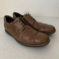 JOHNSTON MURPHY Men's Leather Brown Dress Casual Shoes Size 11 M.