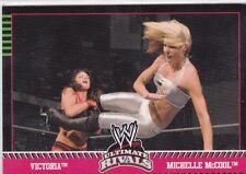 2008 TOPPS WWE SEXY VICTORIA VS MICHELLE MCCOOL WRESTLING CARD #70