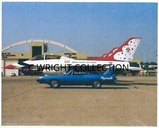 "Vintage Auto Racing-1970 Plymouth Superbird-426 HEMI & USAF F-16 ""THUNDERBIRDS"""