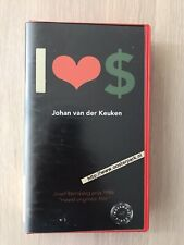 I Love Dollars Johan Vd Keuken ExRental Vintage VHS Tape Dutch NL Film Videoband