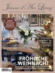 Jeanne d'Arc Living Magazin 8 2021 Shabby Chic Vorverkauf lieferbar nach 15.11.