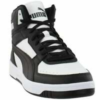Puma Rebound Layup Joy Lace Up Sneakers  Casual    - Black - Mens