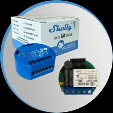 Shelly 1 Open Source WiFi, Smart WiFi Relais Switch, potentialfreies WiFi ...