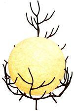 Tischleuchte Ball Garn Lampe Afrika Neu Leuchte Natur Wohnzimmer Deko Metal