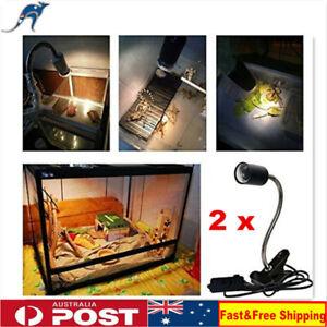2X E27 Ceramic Heat Lamp Light Holder For Chicken Brooder Reptile Basking
