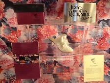 """Just The Right Shoe Raine Originals -"""" Venus In Pearls """" 1999 New"""