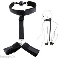 New-Adult-Fantasy-Sex-Toy-Bondage-SM-Bed-Restraints-Handcuffs-Fetish-Collar-Cuff