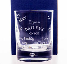 Baileys Liquor Collectable Spirit & Whisky Glasses