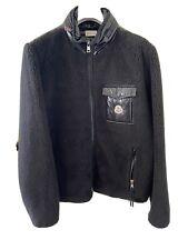 NWT Mens Moncler Maglia Cardigan, Black, Size L