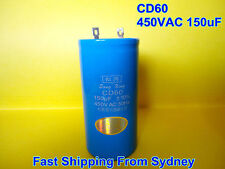 CD60 450VAC 150uF 50Hz Air Conditioner Appliance Motor Capacitor **NEW**