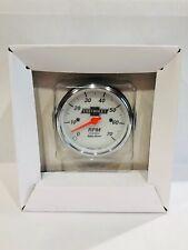 "Auto Meter Chevrolet Vintage Heritage Bowtie  3-1/8"" Tachometer 0-7K RPM"
