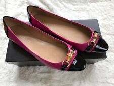 New Talbots Flat, 8 M, Fuchsia And Black