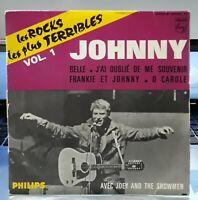 Johnny Hallyday Les rocks les plus Terribles Vol.1 EP Philips 434.950 BE