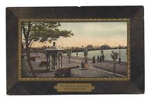 Vintage postcard The Western Esplanade, Southampton. Max Ettinger & Co. pmk 1908