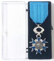 Médaille ONM O.N.M ORDRE NATIONAL DU MÉRITE CHEVALIER en BRONZE *3 Décembre 1963