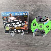 PS1 DEMO DISC 12 VOL. 2 OFFICAL UK PLAYSTATION MAGAZINE