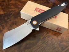Couteau Artisan Osprey Butcher Lame Acier D2 Manche Black G-10 ATZ1803PBKC
