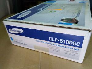 Samsung CLP-510D5C Tonerkartusche Original CLP510 Toner Cyan