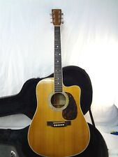 2001 Martin & Co. Custom Acoustic Electric Guitar #/250 Cf Martin Iv Signed Usa