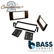 BMW E39 5 Series 95 - 04 Wood Finish Car Stereo Double Din Fascia Panel