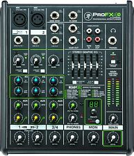 Mackie ProFX4v2 4 Channel Professional Effects Audio Effects Mixer FX *B-STOCK*