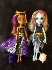 Monster High - 13 Wishes - Clawdeen Wolf And Abbey Bominable