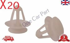 20x VAUXHALL ASTRA CORSA ZAFIRA CALIBRA INTERIOR DOOR CARD PANEL CLIPS 1000304