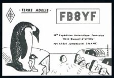 French Antarctic Territory • 1978 • QSL / Postcard • Terre Adelie Penguins