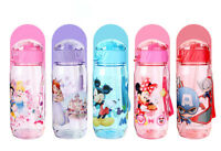 Kids Tumbler Drinkware Water Bottle BPA Free Plastic Straw Sport Children Kettle