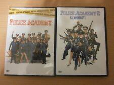 2 DVD - POLICE ACADEMY 1 ET 2 - réf D2