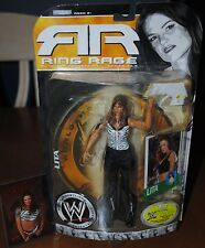 WWF / WWE RARE RAW IS WAR LITA FAMOUS NICKNAMES XTREME BEAUTY & RING RAGE FIGURE