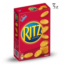 3x Saiwa crackers Ritz 200gr Kesselchips Salzige Kekse salted cookies chips