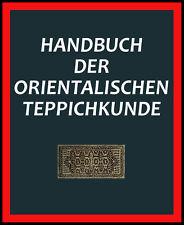 Handbuch der orientalischen Teppichkunde - Perserteppich Fachwissen auf CD