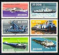 Germania 1981 barche/navi/Trasporto/Rimorchiatori/Traghetto/Ice-Breaker/Chiatta Set 6 V (n28050)
