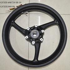 New Black Alloy Suzuki GSXR GSX-R 600/750 2008 2009 2010 Front Wheel Rim