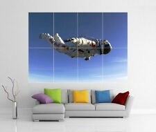 FELIX BAUMGARTNER EDGE OF SPACE SKYDIVE RED BULL GIANT WALL ART PRINT POSTER H59