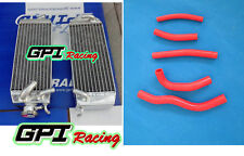 FOR Suzuki RM125 W/X/Y 2-stroke 1998-2000 1999 ALUMINUM  RADIATOR and HOSE