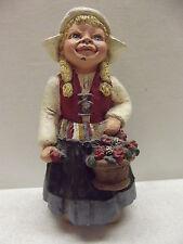 1987 Martha Holcombe All Gods Children Dutch Girl Figurine Katrina #54