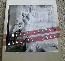 PHOTOGRAPHY BOOK Diane Arbus MAGAZINE WORK b&w photos 176 pages 1984 EXHIBITION