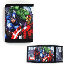 Marvel Avengers Tri-fold Velcro Wallet Light Weight with Multiple Pocket