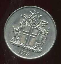 ISLANDE 10 aurar 1973  ( bis )