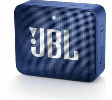 JBL GO2 Portable Bluetooth Speaker - Blue - Currys