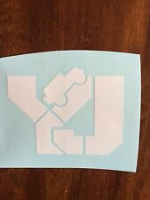JEEP Wrangler Fender Hood Vinyl Decal Sticker Set Yj Wrangler Sahara Rubicon.
