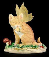 SALE! Faerie Glen Faerie Tails *BUTTERCUP* Orange Fairy Cat Figurine ~ BNIB