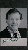 AK m. Autopen AG Günter Rexrodt ex. Bundesminister MDB .